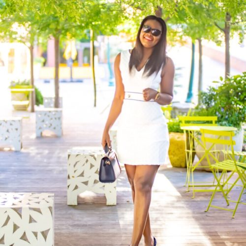 White summer dress oglamstyle Mimi